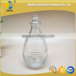 145ml glass material perfume glass bottle bottle with screw neck