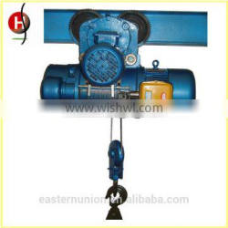 High efficiency 1 ton 5 ton low price of wire rope electric hoist mini wire rope electric hoist