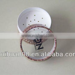 Empty Customized Paper Cosmetic Loose Powder Container