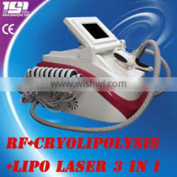 3 in1 high effective Criolipolysis Ultrasonic Massage Reduction Cellulites Portable