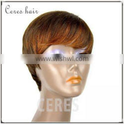 Premium high grade Curly Brazilian hair lace front wig, human hairl lace front wig in stock