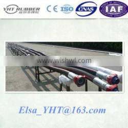 resistant against cold and hot water Steel wire spiral Drilling Hose for mining