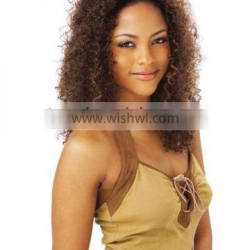 beauty fashion brazilian curl synthetic lace front wig
