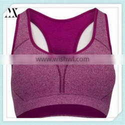 2016 New Style Sports Bra With Mesh Fabric Moving Comfort Sports Bra For Ladies
