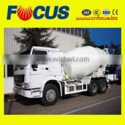 Good quality with 9m3 volume ready mix concrete truck for sale
