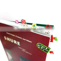 Customized special fancy gift folding magnetic clip custom bookmark