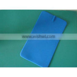 blue long lasting silicon electrode pad tens electrode pad conductive silicon electrode pad