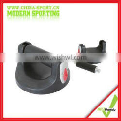 Black Weighted Push Up Stand