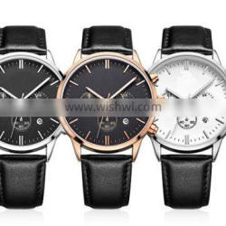 YB 2015 new style vogue genuine leather watches wholesale