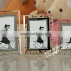 Custom crystal glass photo frame wholesale glass picture frames