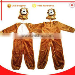 wholesale sexy girl and realistic hot furry animal cosplay tiger mascot costume for kids