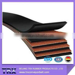 Superior Quality CC/cotton canvas rubber conveyor belt from china supplier