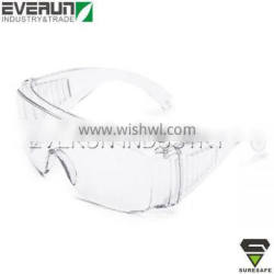 Wide view Frameless CE EN166 Protection Eyewears Safety Glasses