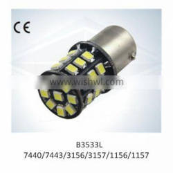 NEW design LED Auto Light S25 1156 1157 33SMD 2835 with CE