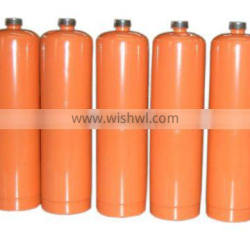 Mini mapp gas cylinder with torch for welding EN12205