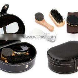 Cleaning Set for shoes in case & cleaning brush set