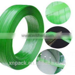 High Tensile high visibility Strength Green PET Strapping
