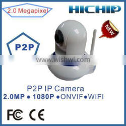 Hichip HD Dome Infrared Home IP Camera with motion detection alarm