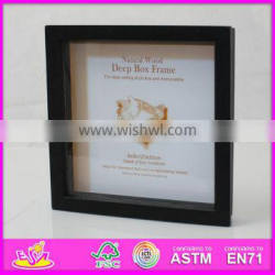 2015 New and popular wooden picture frame for kids,wooden toy photo frame for children,photo picture frame for baby W09A020