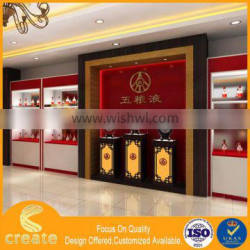 Guangzhou factory OEM/ODM wine retail store display cabinet for wine & cigarette exhibition& advertisement&promotion stand