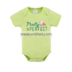 Top Sale Infant&Toddlers Clothes Short Sleeve 100% Cotton Baby Rompers
