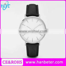 2016 latest style sapphire glass custom logo design watches with butterfly buckle