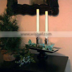 Nice battery operated tearless Smokeless led taper candle for home decoration