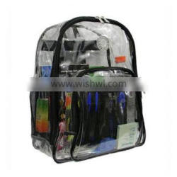 Most popular heavy duty clear backpack simple latest backpack