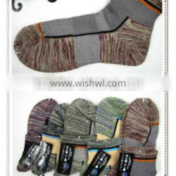 latest design new arrival hot selling colored sport socks for man