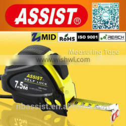 Perfect design two stops 3m 5m 7m 8m 10m steel rubber tape measure stock
