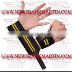 Wholesale cheap Black & Yellow Weightlifting Wrist , wrist support weight lifting,FM-996 w-408