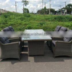 WICKER TABLE WITH CHAIRS/ WICKER TABLE AND CHAIRS FOR GARDEN