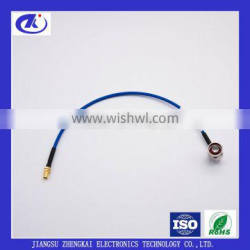 RG402 CABLE ASSEMBLY WITH N MALE RIGHT ANGLE AND SMA FEMALE CONNECTOR, 0.35m