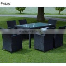 Fashion classial indoor rattan used restaurant table and chair