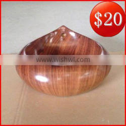 Special shape sink ceramic wooden floor pattern water drop design basin BO-37 Quality Choice