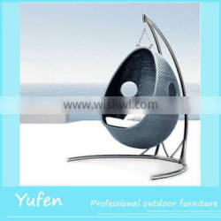 cheap outdoor plastic hanging ball chair
