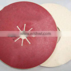 Abrasive Tool Felt Disc With Hard Red Paper
