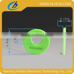popular rfid laundry small size colorful hard tag