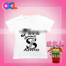 Hot selling high level new design delicate appearance print t-shirt children kid clothes