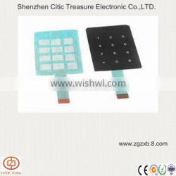 Pvc/pc/pet/ capacitive button touch switches with clear film