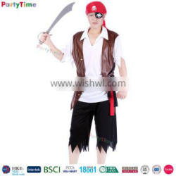 cosplay men's halloween party pirate costumes pirates of caribbean devil