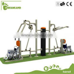 High quality galvanized steel outdoor handicapped fitness equipment Quality Choice