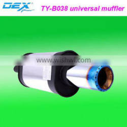 high quality car parts tuning stainless steel exhaust muffler tips