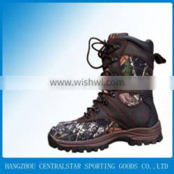 2014 New Genuine leather shoes high-cut camo Army Boots CA-16