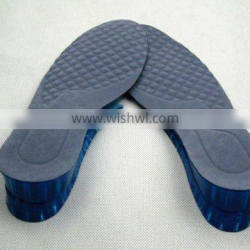 various styles pu height increase insole for man