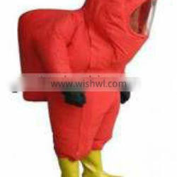 Chemical protective clothing for fireman