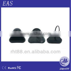 2016 New Hot Style Promotional EAS Security System AM EAS Plastic Triangle Tags With Lanyard For Clothes
