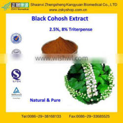 GMP Factory Supply Natural Black Cohosh Extract