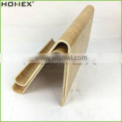 Bamboo stand holder for tablet pc/ tablet security stand Homex-BSCI