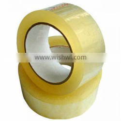 Wholesale high strength bopp adhesive transparent packaging tape